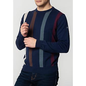 Merc DARREN, Men's Cotton Jumper with Vertical Stripes