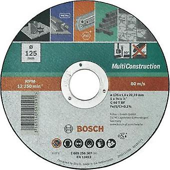 Straight cutting disc, Multi Construction Bosch Accessories 2609256306 Diameter 115