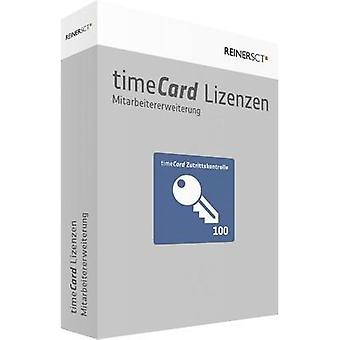 Access control software upgrade ReinerSCT timeCard Version 6.0 Zutrittskontrolle / 100 Mitar
