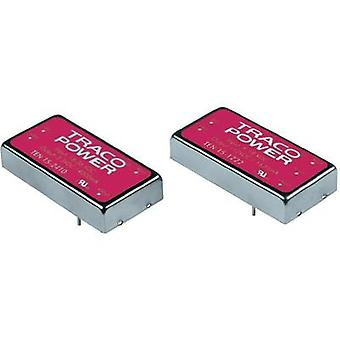 DC/DC converter (print) TracoPower TEN 15 Series 12 Vdc 12 Vdc, -12 Vdc 625 mA 15 W No. of outputs: 2 x