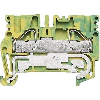 Weidmüller 1896170000 Terminal Block 5.1mm 800V Green-yellow