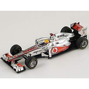 McLaren Mercedes MP4-26 (Lewis Hamilton - German GP 2011) Resin Model