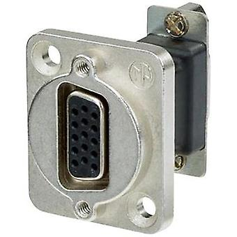 D-SUB adapter D-SUB socket 15-pin - D-SUB socket 15-pin Neutrik NADB15FF 1 pc(s)