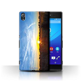 STUFF4 Case/Cover for Sony Xperia Z4/Blue Sky/Sunset Scenery