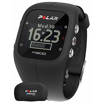 Polar Unisex A300 Activity Tracker (Black with HR) 90051953 Watch