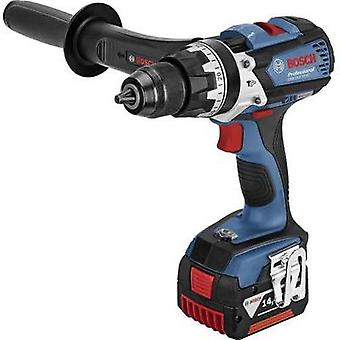 Bosch Professional GSB 14,4 VE-EC Cordless impact driver 14.4 V 4 Ah Li-ion incl. spare battery, incl. case