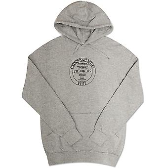 Crooks & Castles Worldwide Hoodie Speckle Grey