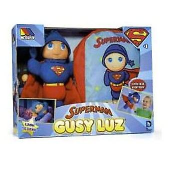 Molto Light Gusy Superman + Backpack (Toys , Preschool , Dolls And Soft Toys)