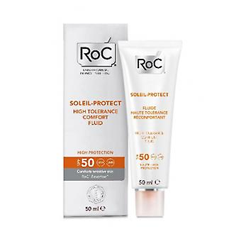 Roc Protect Soleil 50 Fluid 50 Ml High Tolerance