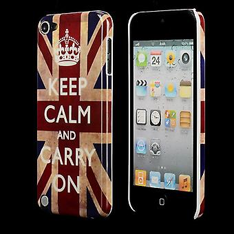 Holde roen cover til iPod Touch 5