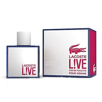 Lacoste Live hell Homme av Lacoste for menn 3.3oz Eau De Toilette Spray
