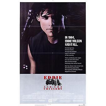 Eddie und die Kreuzer Movie Poster (11 x 17)