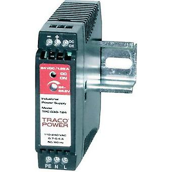 Rail mounted PSU (DIN) TracoPower TPC 030-148 48 Vdc 0.6 A 30 W 1 x