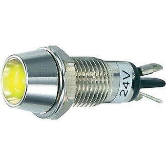LED indicator light Yellow 24 Vdc SCI R9-115L 24 V YELLOW
