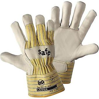 worky 1571 Glove SAFE Cattle scar leather Size 10