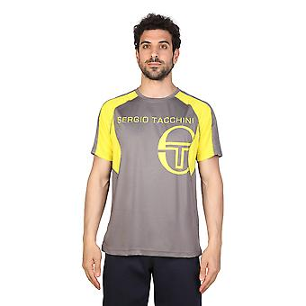 Tacchini Men Polo Grey