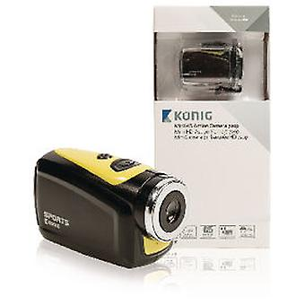 König Action Camera 720p and 5MP Waterproof Housing