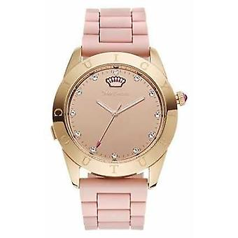 Juicy Couture Womans Connect Crystal Pink 1901546 Watch