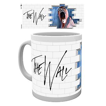 De muur Scream mok