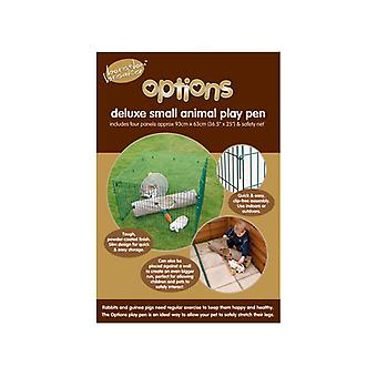 Options Deluxe Play Pen With Net