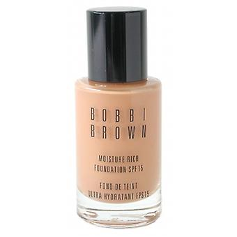 Bobbi Brown Moisture Rich Foundation SPF15 - #5 Honey 30ml/1oz