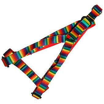 Yagu Harness Rainbow (Dogs , Walking Accessories , Harnesses)