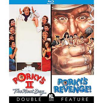 Porky's II: næste dag (1983) / porkys hævn 1985 [Blu-ray] USA import