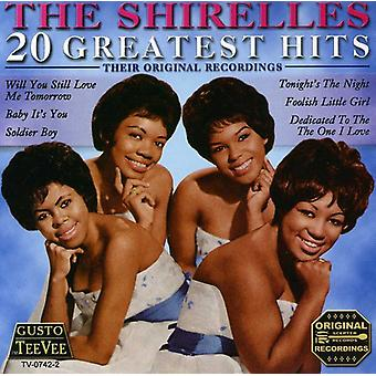Shirelles - 20 Greatest Hits CD] USA importerer