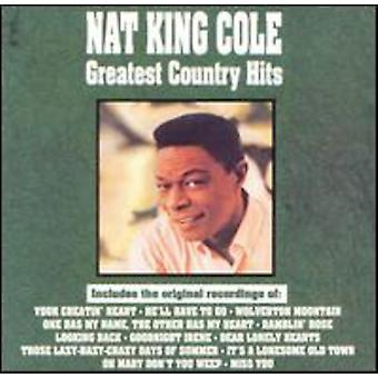 Nat King Cole - importazione USA Greatest Hits di paese [CD]