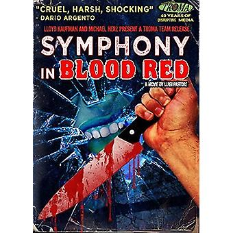 Symfoni i blod rød [DVD] USA import