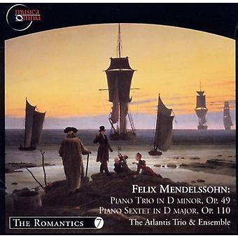 F. Mendelssohn - Mendelssohn: Klaver Trio Op. 49: klaver sekstet, Op. 111 [CD] USA import