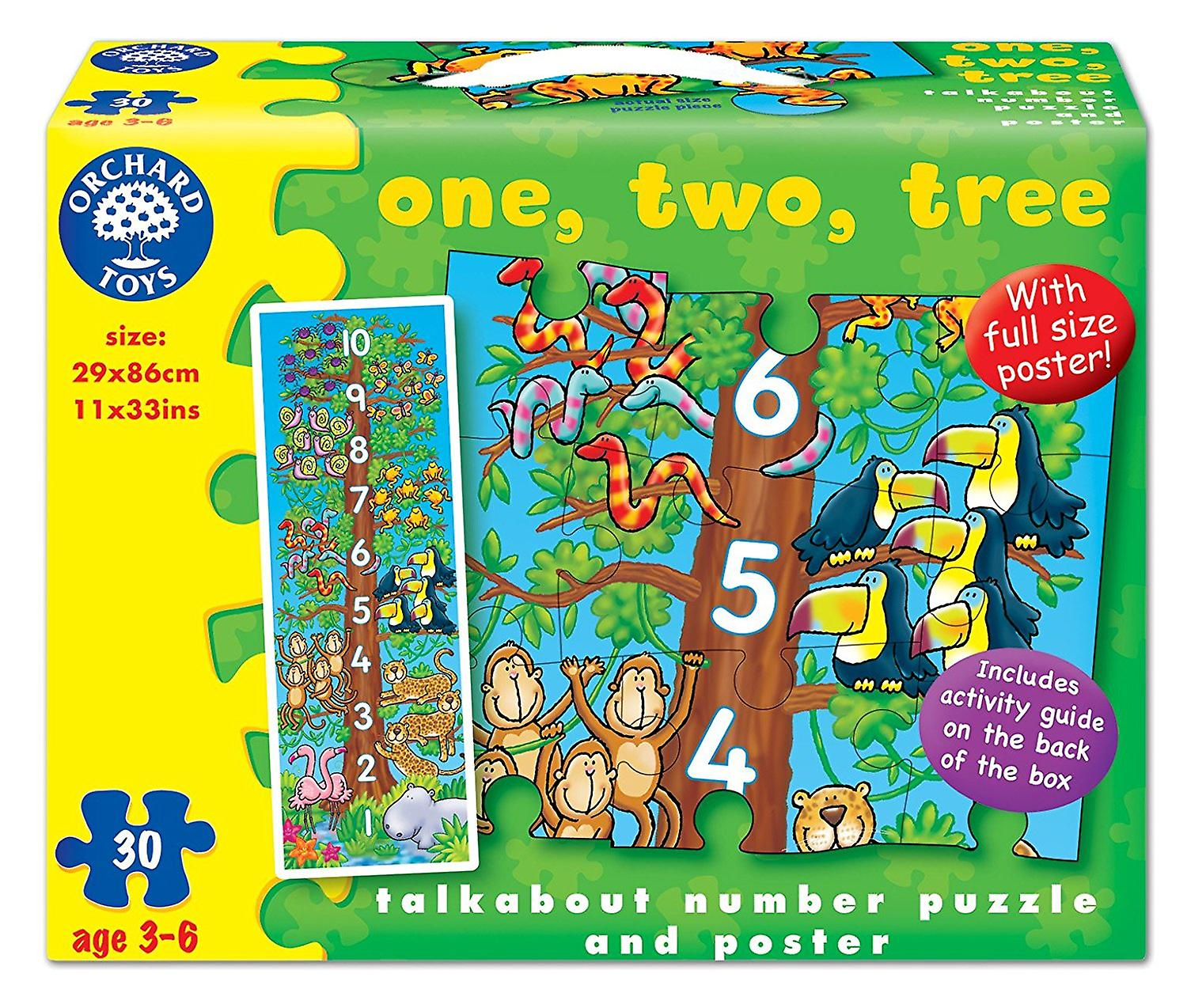 Orchard One, Two, Tree Puzzle
