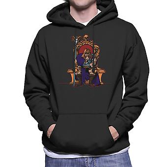 King Of Eternia He Man Masters Of The Universe Men's Hooded Sweatshirt