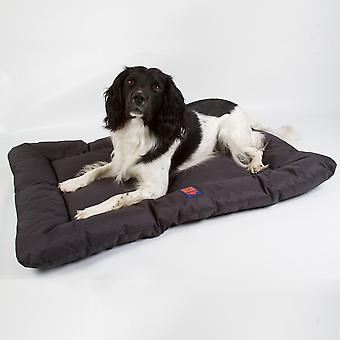 Ginger Ted Waterproof Dog Mattress  Dark Grey