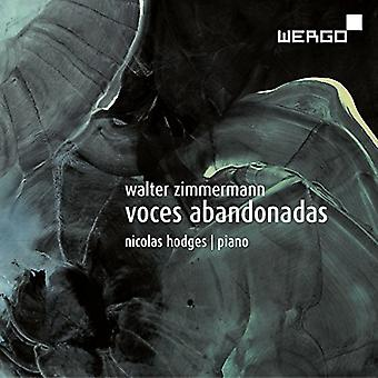 Zimmermann / Hodges - Voces Abandonadas [CD] USA import