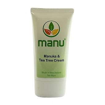 Manuka and Tea Tree Cream - Gentle Cream For All Skin Types