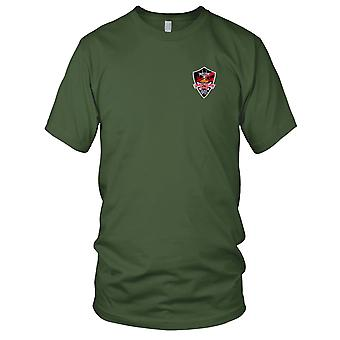 US Navy VF-154 Embroidered Patch - Black Knights EMS Grandslam Mens T Shirt