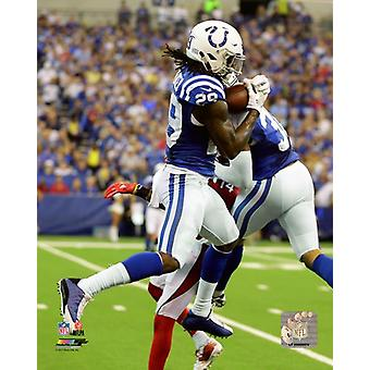 Malik Hooker 2017 Action Photo Print