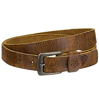 Billy the kid Jane of narrow leather belt with buckle M425-24