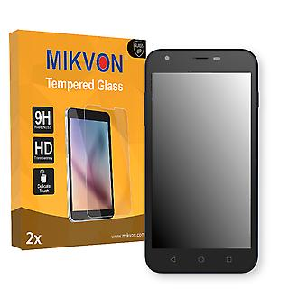 Archos 50c Platinum Screen Protector - Mikvon flexible Tempered Glass 9H (Retail Package with accessories)