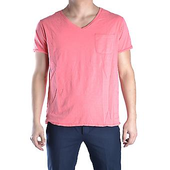 Tommy Hilfiger men's MCBI295002O red cotton T-Shirt