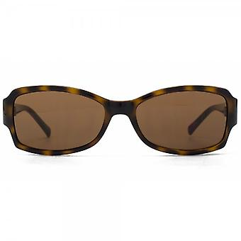 Guess Classic Rectangle Sunglasses In Tortoiseshell
