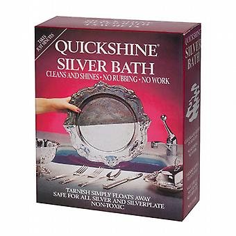 Caraselle Pack of 4 Sachets of Quickshine Silver Bath 4 x 50g