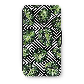 iPod Touch 6 Flip Case - dżungla geometrycznej