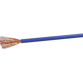 Flexible cable H05V-K 1 x 0.50 mm² Blue VOKA Kabelwerk