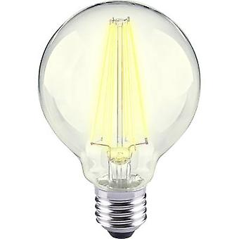LED E27 globo 12 W = 98 W Warm white (Ø x L) 80 x 115 mm EEC: base-congelador a ++ Sygonix filamento 1 PC