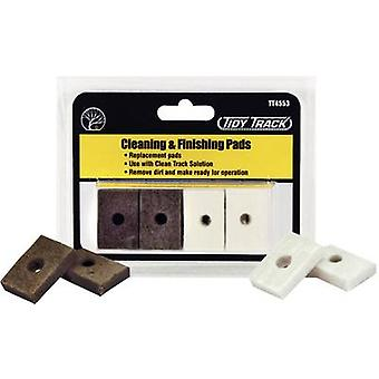 Woodland Scenics WTT4553 0, H0, N, TT Tracks Cleaning pads