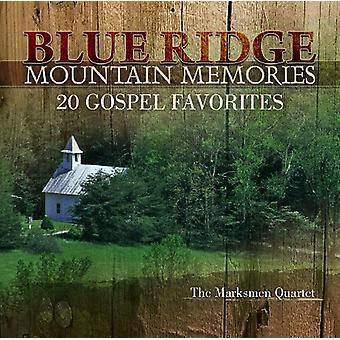 Skytter kvartetten - Blue Ridge Mountain erindringer: 20 evangelium [CD] USA importerer