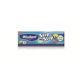 Wisdom Step By Step Toothpaste 0-3 Years