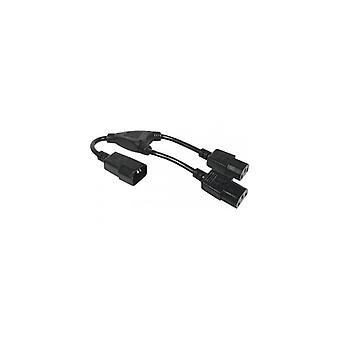 EXC AC Power Cord cord set appliance cord Y-Cord 0-3 m-Angled